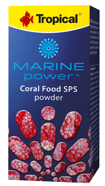 Tropical Korallenfutter Marine Power Coral Food SPS Powder