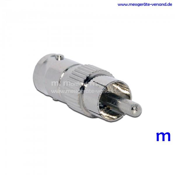 Greisinger Adapter GAD 1 BNC, BNC-Buchse auf Cinch-Stecker
