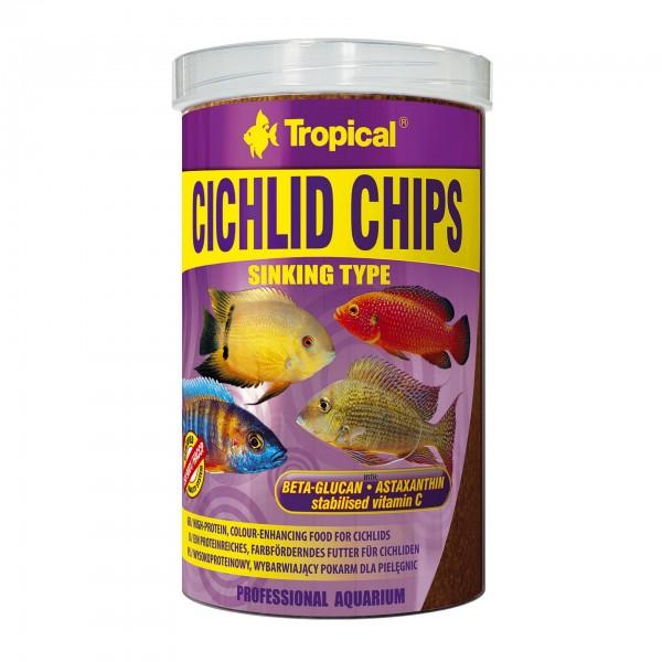 Fischfutter TROPICAL Cichlid Chips