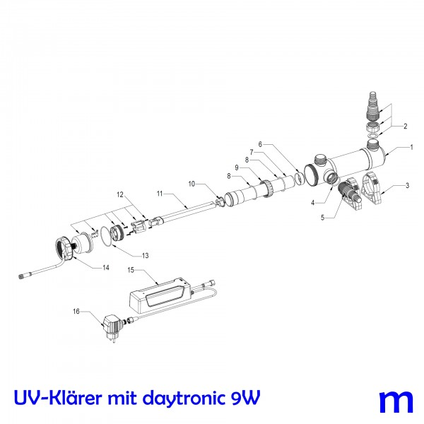 SÖLL UV-Klärer mit daytronic 9W, Bild Nr. 15 Daytronic für SÖLL UV-Klärer 9W