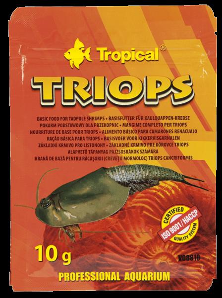 Tropical Urzeitkrebsfutter Triops 10g