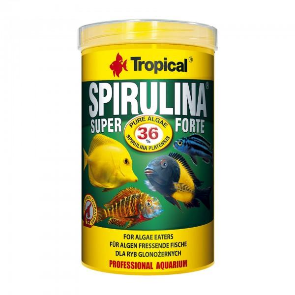 Fischfutter TROPICAL Super Spirulina Forte 36%, 1 Liter