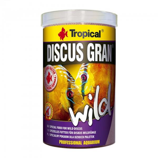 Fischfutter TROPICAL Discus Gran Wild, 1 Liter