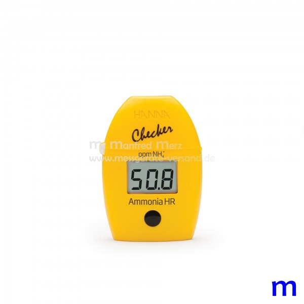 Mini-Photometer Checker® HI733 f. Ammonium (NH4+) hoch