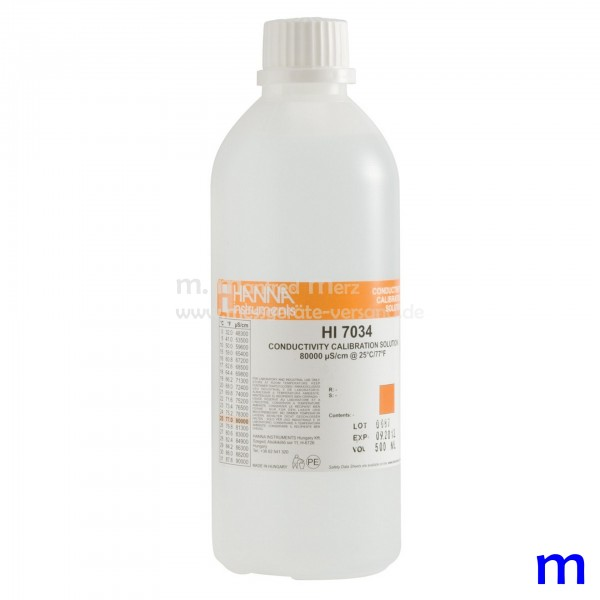 EC-Kalibrierlösung 80.000 µS/cm 500ml
