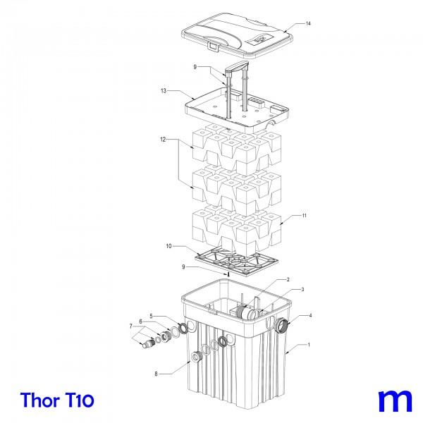 Gartenteichfilter Thor T10, Bild Nr. 1 Filtergehäuse für SÖLL Thor T10