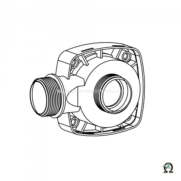 Motordeckel für SÖLL Teichpumpe SFP-4600