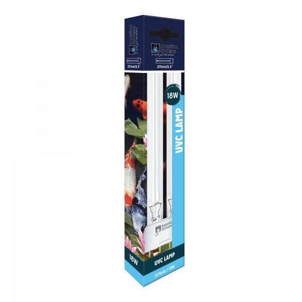 Aquarium Systems Compact UVC Lampe 18 Watt 2G11
