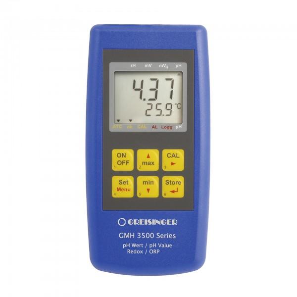 Greisinger pH-/Redox-/Temperatur-Messgerät GMH 3531