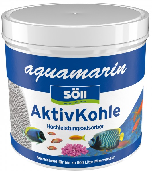 SÖLL aquamarin AktivKohle 500ml