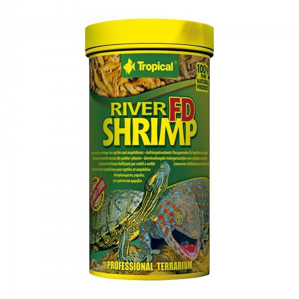 "Tropical Reptilienfutter Gefriergetrocknete Flussgarnelen ""FD River Shrimps"" 250ml"
