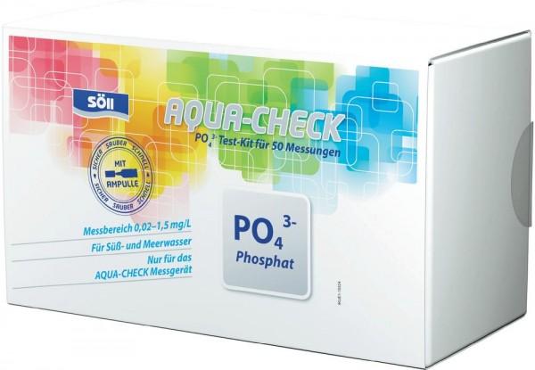 Söll Phosphat-Test für AQUA-CHECK für 50 Messungen