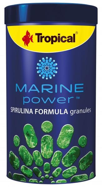 Tropical Fischfutter Marine Power Spirulina Formula Granulat