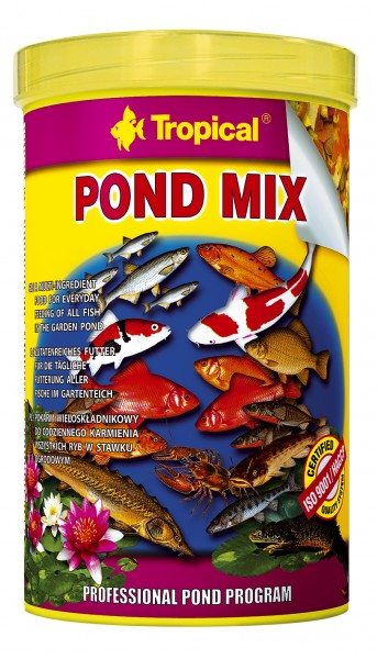 Tropical Fischfutter Pond Mix 1 Liter