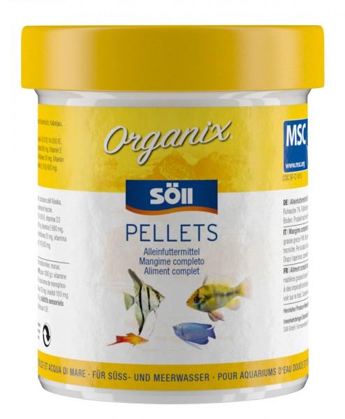 Zierfischfutter Organix Pellets 60g (130ml)