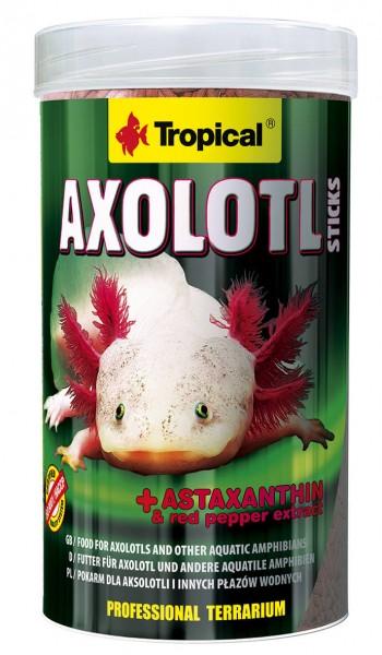 Tropical Amphibienfutter Axolotl Sticks 250ml