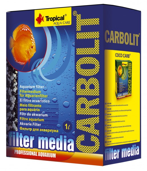 Filtermedium Tropical Carbolit