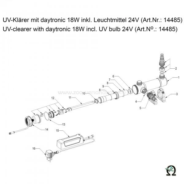 SÖLL UV-Klärer mit daytronic 18W, Bild Nr. 15 Daytronic für SÖLL UV-Klärer 18W