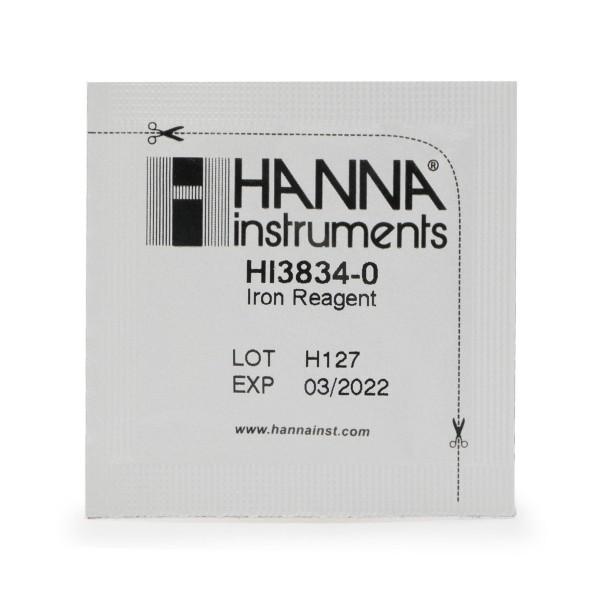 Reagenzien HI38039-100 für Hanna Checker Disc Testkit Eisen niedriger Bereich 100 Tests