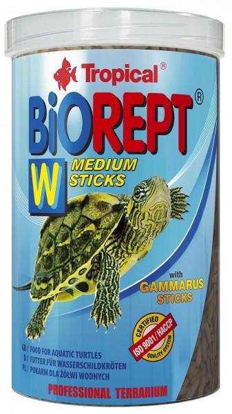 Tropical Sumpf- und Wasserschildkrötenfutter Biorept W 1000ml