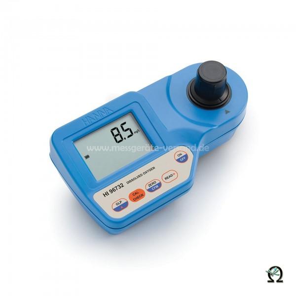 Kompakt-Photometer HI96732 für gelösten Sauerstoff 0,0 bis 10,0 mg/l