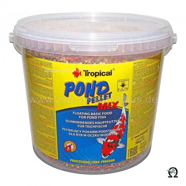 Tropical Fischfutter Pond Pellet Mix 5 Liter (700 g)