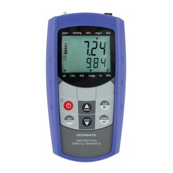 Greisinger Sauerstoffmessgerät GMH 5650 ohne Sensor