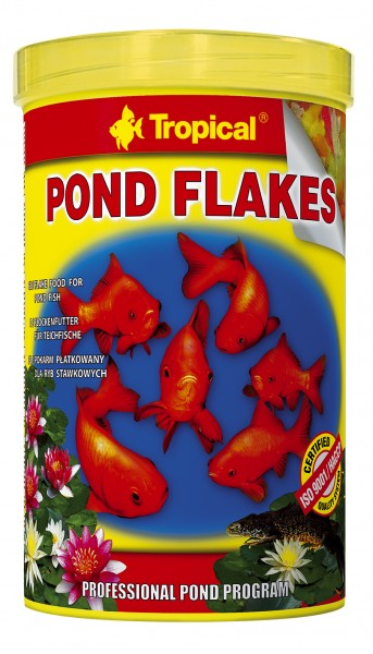 Tropical Fischfutter Pond Flakes 1 Liter