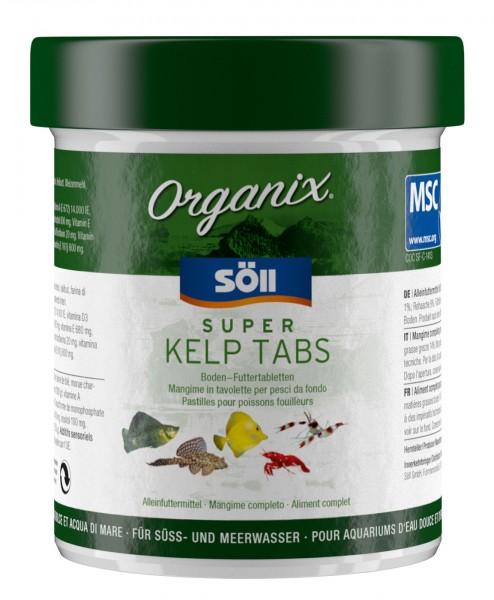 Zierfischfutter Organix Super Kelp Tabs 56g (130 ml)