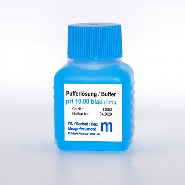 Pufferlösung pH 10,0 mit Analysezertifikat, 50ml