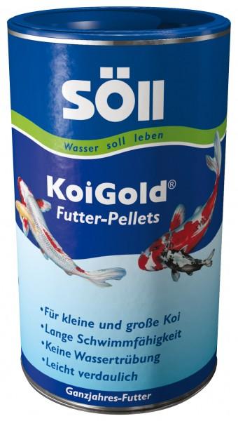 SÖLL KoiGold Futter-Pellets 1Liter
