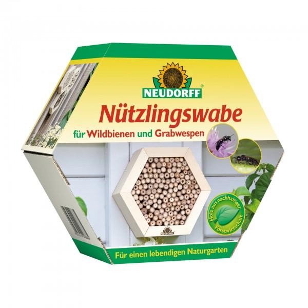 NEUDORFF Nützlingswabe f. Wildbienen u. Grabwespen im Karton
