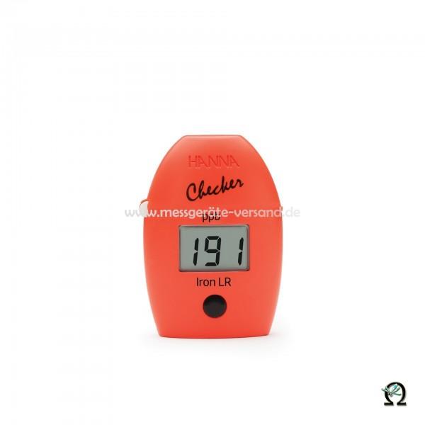 Mini-Photometer Checker HI746 f. Eisen Niedrig (0 bis 999 µg/l)