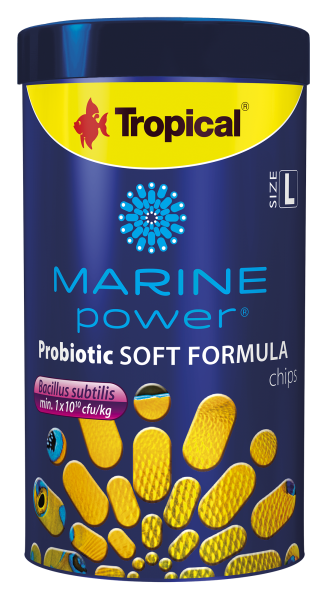 Tropical Fischfutter Meerwasserfischfutter Marine Power Probiotic Soft Formula L