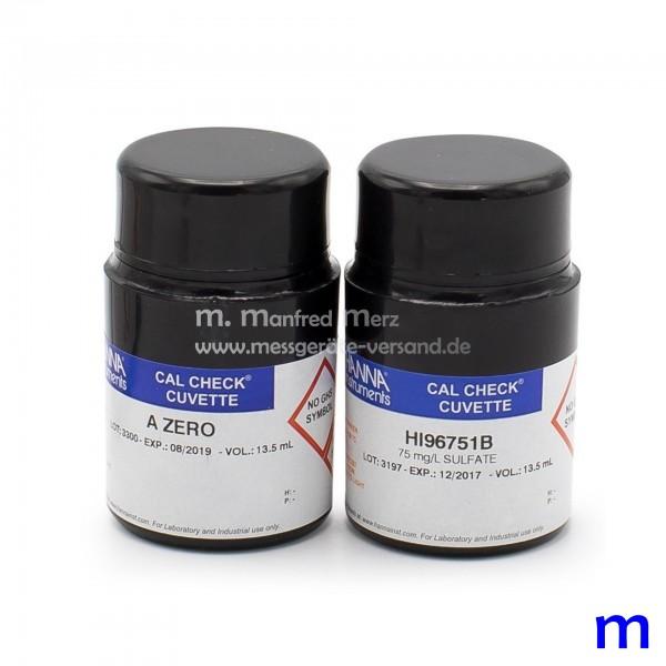 Kalibrierstandard HI96751-11 CAL CHECK Sulfat
