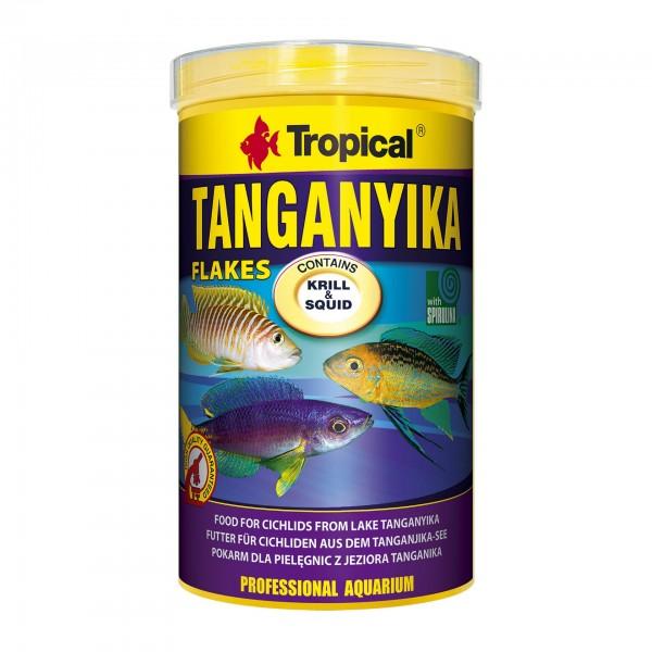 Fischfutter TROPICAL Tanganyika Flakes, 1 Liter