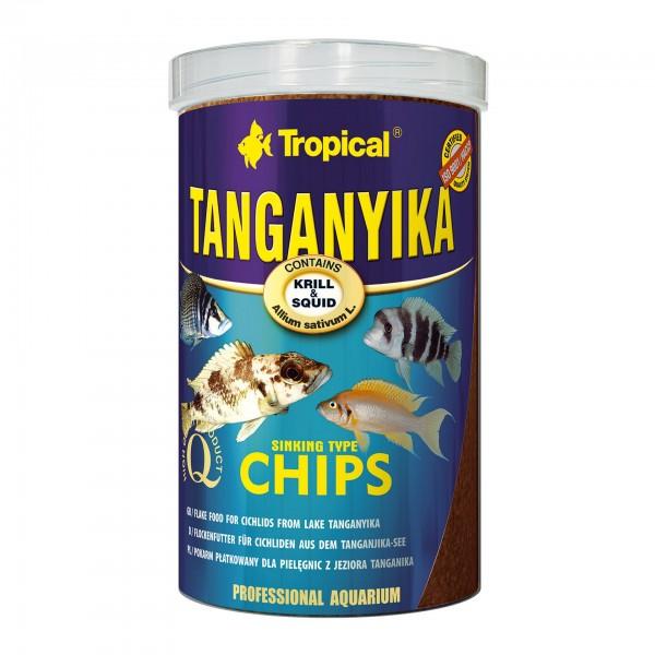 Fischfutter TROPICAL Tanganyika Chips, 1 Liter