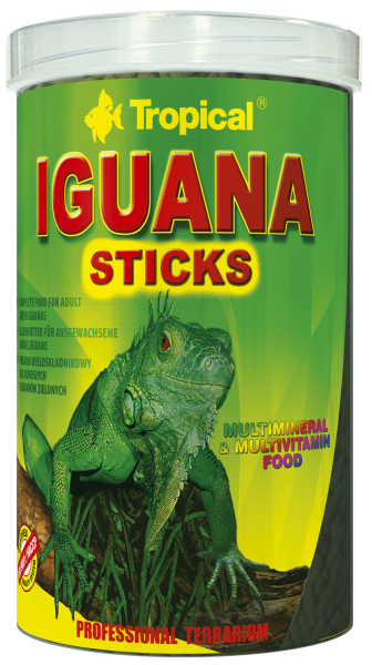 Tropical Reptilienfutter Iguana Sticks 1000ml