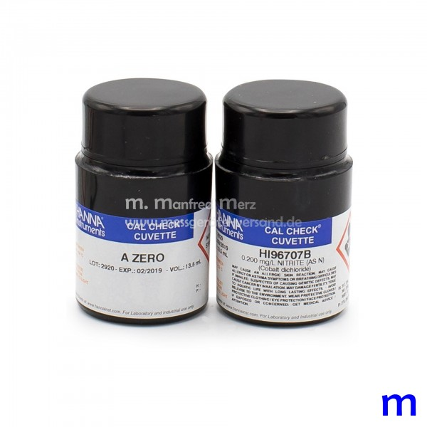 Kalibrierstandard HI96707-11 CAL CHECK Nitrit Niedrig