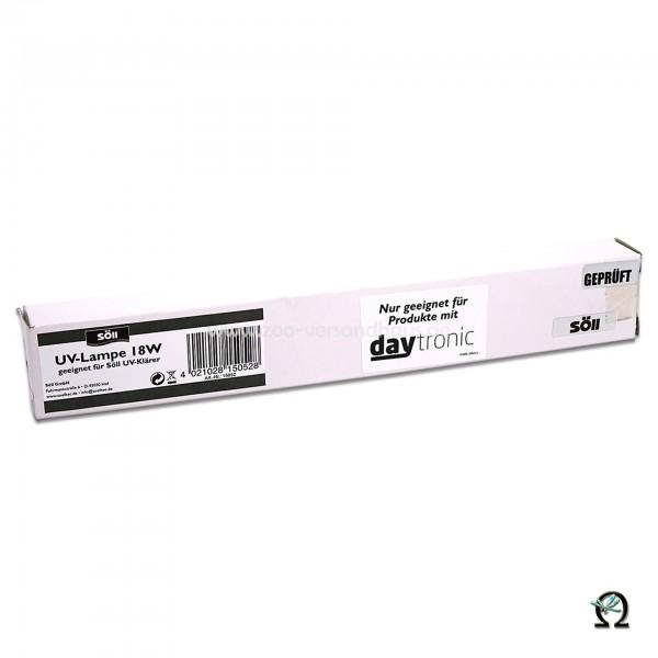UV-Lampe 18 Watt f. SÖLL UV-Klärer mit daytronic 18W