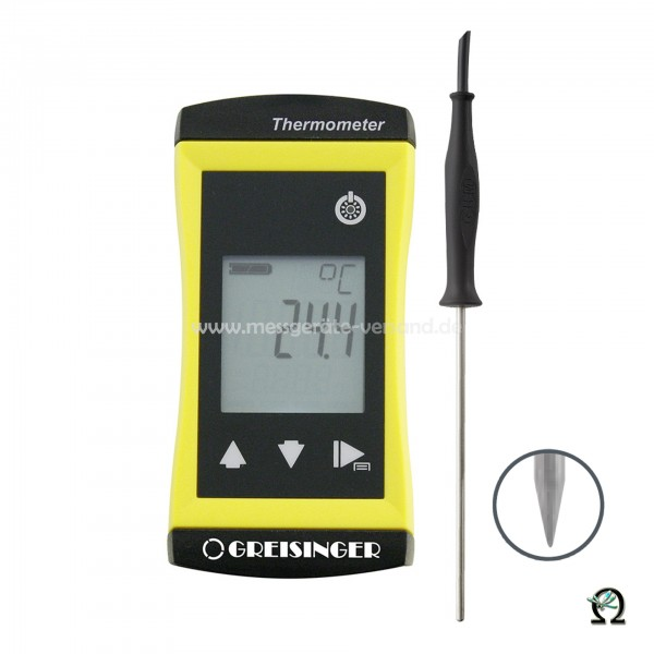 Universalthermometer Greisinger G 1720 m. Einstechfühler Ø 3mm