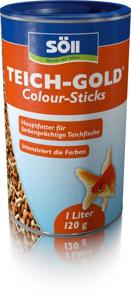SÖLL TEICH-GOLD Colour-Sticks 1Liter