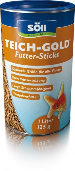 SÖLL TEICH-GOLD Futter-Sticks 1Liter