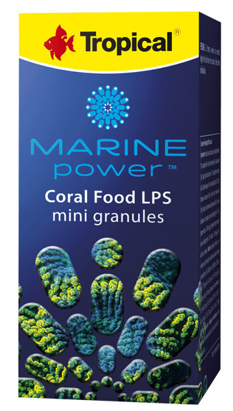 Tropical Korallenfutter Marine Power Coral Food LPS Mini Granulat