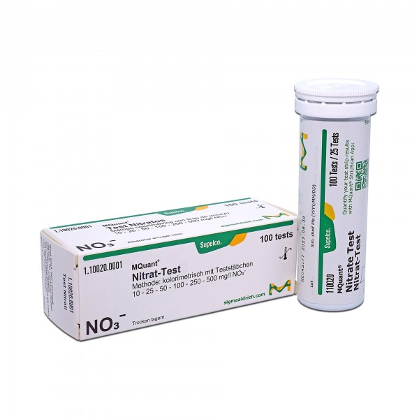 Merckoquant Nitrat-Teststäbchen
